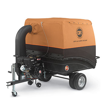 Tow-Behind Lawn and Leaf Vacuums