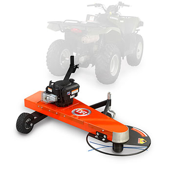 Tow Behind Trimmer Mowers